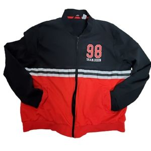 Sean John Men 4XB Color Block Full Zip Sweatshirt